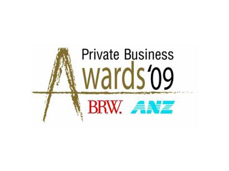 BRWPrivateAward_Sept09