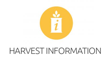 Harvest Information