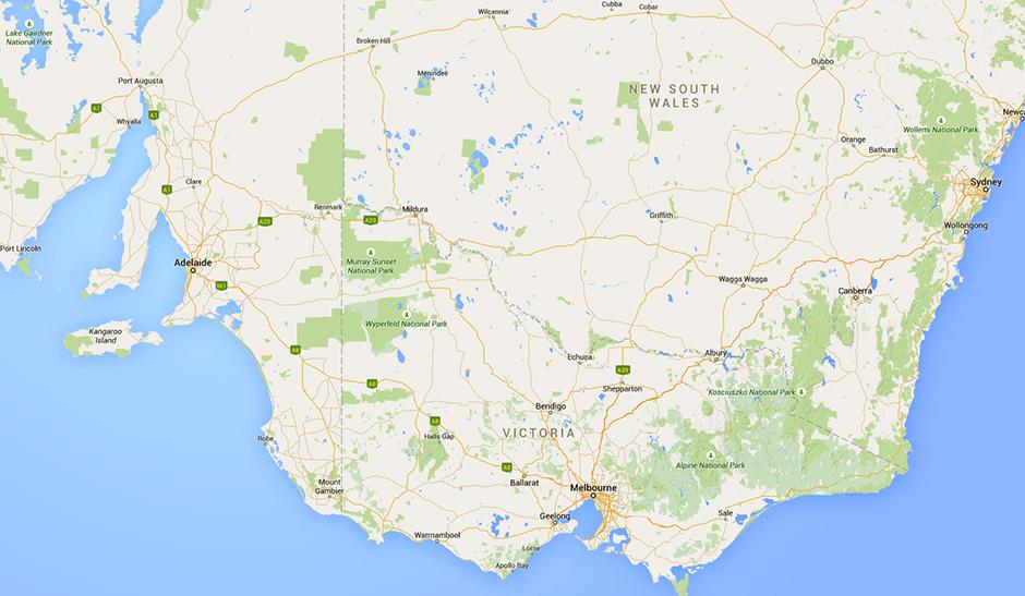 Southern Map