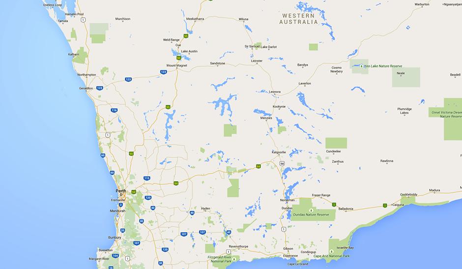 Western Map